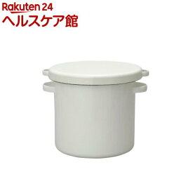 野田琺瑯 ホワイトシリーズ ラウンドストッカー 24cm WRS-24(1コ入)【ホワイトシリーズ(White Series)】