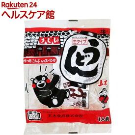 五木食品 生タイプうどん スープ付(210g)
