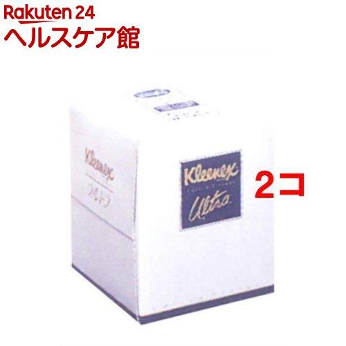 クリネックスティシュー ウルトラドレッサーサイズ(210枚入*2コセット)【クリネックス】