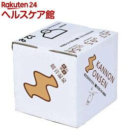 飲む温泉 観音温泉 バッグインボックス(12L)[水]