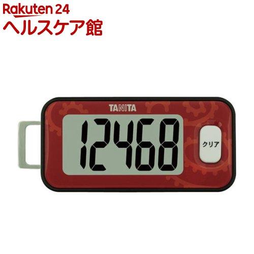 タニタ 3Dセンサー搭載歩数計 アカ FB-731-RD(1台)【タニタ(TANITA)】