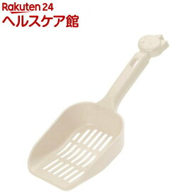 リッチェル コロル ネコトイレ用スコップ 小粒用 ベージュ(1コ入)【コロル】