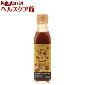 有機プレミアムソース 中濃タイプ(200ml)【創健社】
