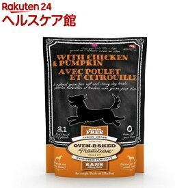 オーブンベークド トリーツ グレインフリー チキン&パンプキン ソフトタイプ(227g)【オーブンベークドトラディション】