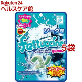 ブルボン フェットチーネグミ ソーダ味(50g*5袋セット)【ブルボン】