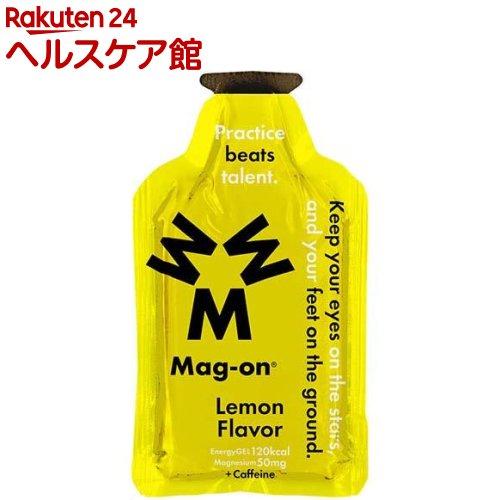 エナジージェル レモン味(12コ入)【マグオン(Mag-on)】
