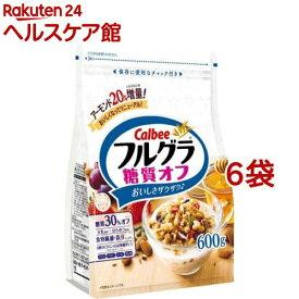 フルグラ 糖質オフ(600g*6コセット)【pickUP】【carbo_2】【フルグラ】