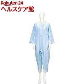 ソフトケア ねまき 薄手 ブルー L(1枚入)【ソフトケア(介護用品)】