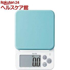 タニタ デジタルクッキングスケール ブルー KJ-212-BL(1台)【タニタ(TANITA)】