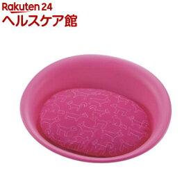 リッチェル ペットベッド オーバル Mサイズ ピンク(1コ入)