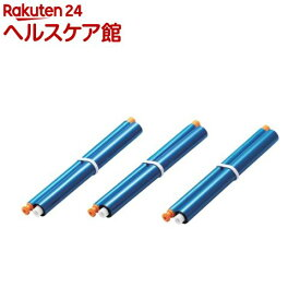 エレコム FAX用インクリボン パナソニック用 FAX-KXFAN190-3P(3本入)