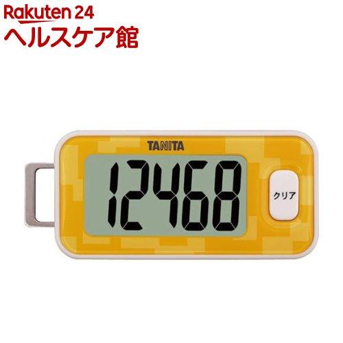 タニタ 3Dセンサー搭載歩数計 ダイダイ FB-731-OR(1台)【タニタ(TANITA)】