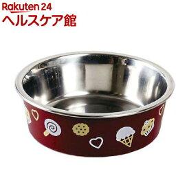 ドギーマン ステンレス食器ごはんにゃわん 犬用 SSサイズ ブラウン(1コ入)【ドギーマン(Doggy Man)】