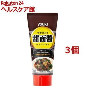 ユウキ食品 甜面醤 チューブ(100g*3コセット)【more20】【ユウキ食品(youki)】