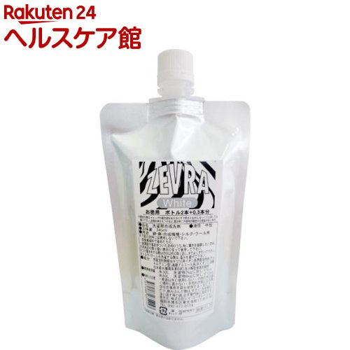 ゼブラホワイト 詰替パック(345mL)【ゼブラ(ZEVRA)】【送料無料】