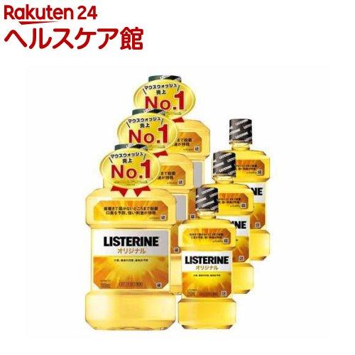 薬用リステリン オリジナル 増量セット(1L+250mL*3コセット)【LISTERINE(リステリン)】