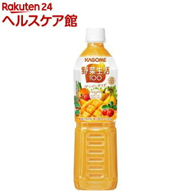 野菜生活100 マンゴーサラダ スマートPET(720ml*15本入)【spts1】【野菜生活】