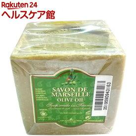 サボン・ド・マルセイユ オリーブオイル(石鹸)(約300g)【サボン・ド・マルセイユ】