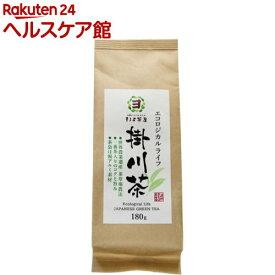 まるよ茶屋 エコロジカルライフ 掛川茶(180g)