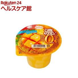 濃いマンゴーゼリー 0kcaL(195g*6コ入)【spts3】【たらみ】