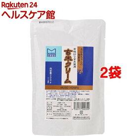 ムソー食品工業 玄米クリーム(200g*2コセット)