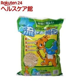 猫砂 ひのきとおからの流せる猫砂(8L)【オリジナル 猫砂】