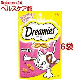 ドリーミーズ かつお味(60g*6コセット)【ドリーミーズ】
