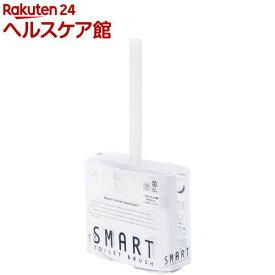 マーナ スマートトイレブラシ ホワイト W051W(1コ入)【マーナ】