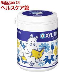 ロッテ ムーミン キシリトールガム ベリーミックス デザインボトル(143g)【キシリトール(XYLITOL)】