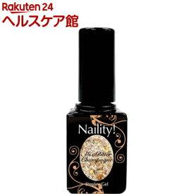 ネイリティー ステップレスジェル ミックスグリッターシャンパン 028(7g)【Naility!(ネイリティー)】