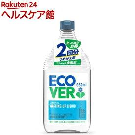 エコベール 食器用洗剤 カモミール 詰替用(950ml)【エコベール(ECOVER)】