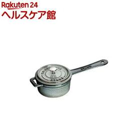 ストウブ スモール ソースパン グレー 10cm 40509-536(1コ入)【ストウブ】