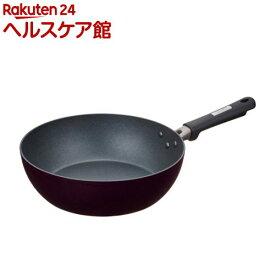 サーモス フライパン炒め鍋 28cm ブラック KFC-028D BK(1個)【サーモス(THERMOS)】