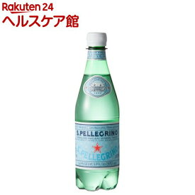 サンペレグリノ ペットボトル 炭酸水 正規輸入品(500ml*24本入)【サンペレグリノ(s.pellegrino)】