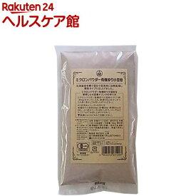 ミクロンパウダー有機炒り小豆粉(180g)【山清(ヤマセイ)】