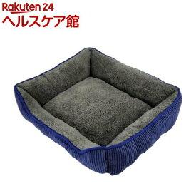 ペットプロ あったか蓄熱ベッド M ネイビーブルー(1個)【ペットプロ(PetPro)】