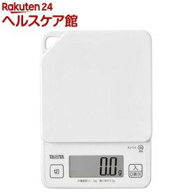 タニタ デジタルクッキングスケール ホワイト KJ-114-WH(1コ入)【タニタ(TANITA)】