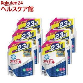 アリエール 洗濯洗剤 液体 イオンパワージェル 詰め替え 超ジャンボ(1.62kg*6コセット)【アリエール イオンパワージェル】