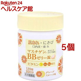 【第3類医薬品】マスチゲン BBゼリー錠(120錠*5コセット)【マスチゲン】