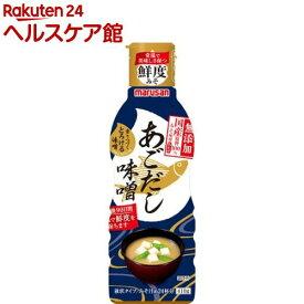 マルサン 香りつづくとろける味噌 国産原料100%みそ使用あごだし(410g)【マルサン】