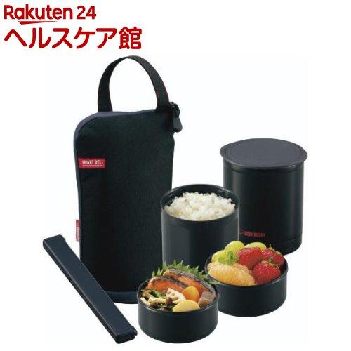 象印 保温弁当箱 ブラック SZ-JB02-BA(1コ入)【象印(ZOJIRUSHI)】【送料無料】