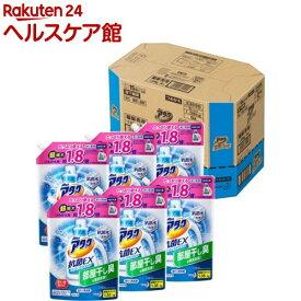 アタック 抗菌EX スーパークリアジェル 洗濯洗剤 詰め替え 大サイズ 梱販売用(1350g*6コ入)【spts5】【アタック】