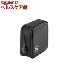 エレコム CD/DVDファスナーケース CCD-H52BK(1コ入)【エレコム(ELECOM)】