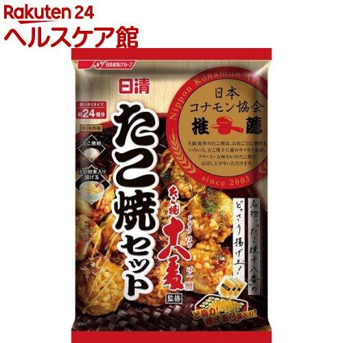 日清 たこ焼十八番監修 たこ焼セット(160g)【日清】