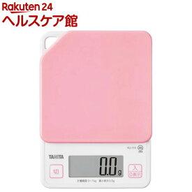 タニタ デジタルクッキングスケール ピンク KJ-114-PK(1コ入)【タニタ(TANITA)】