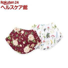 コッパーパール ファッションビブ 2枚セット スカーレット(1セット)【コッパーパール(Copper Pearl)】