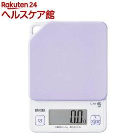 タニタ デジタルクッキングスケール パープル KJ-114-PP(1コ入)【タニタ(TANITA)】