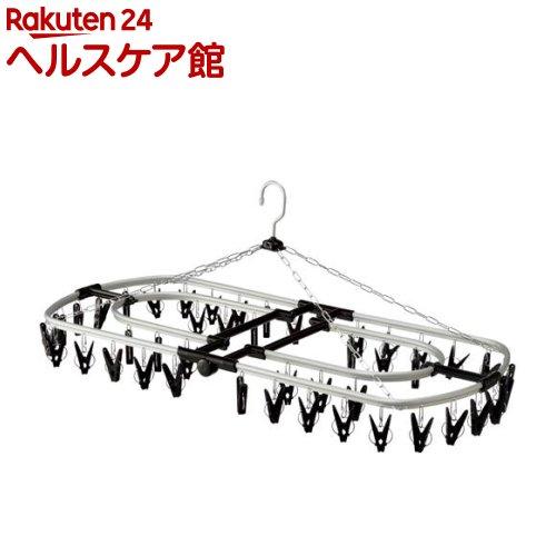 コグレ アルミ角ハンガー44 ブラック(1コ入)【コグレ(kogure)】