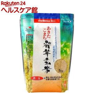 あきたこまち発芽玄米 鉄分(1kg)【spts4】