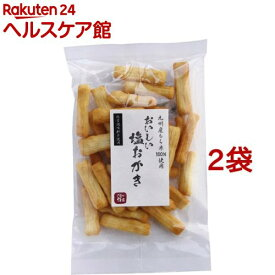 創健社 おいしい塩おかき(70g*2コセット)【創健社】